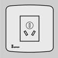 (10A)单相三极插座